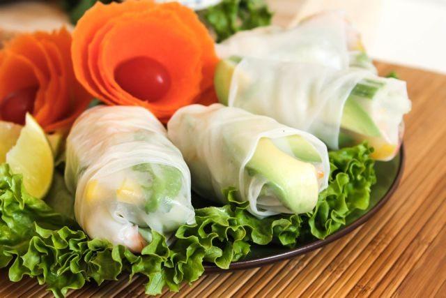Green Curry Shrimp Rolls 2