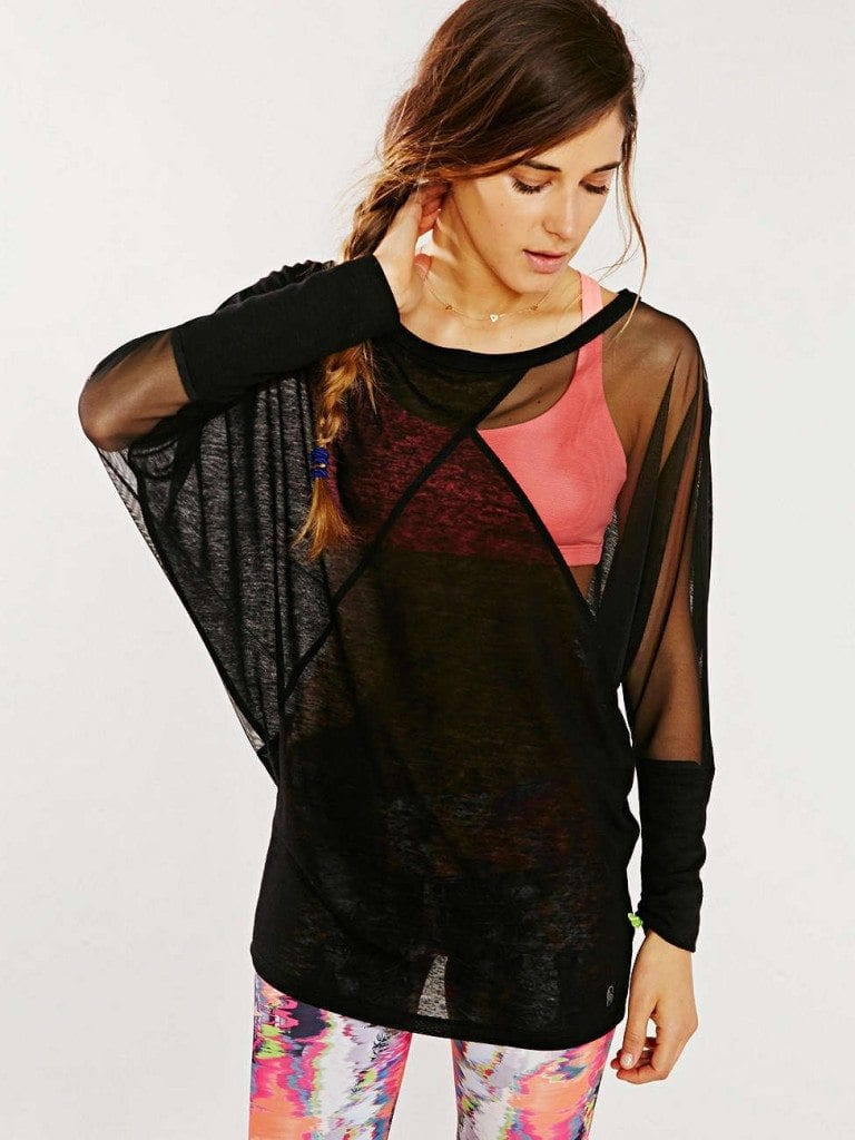 Nesh NYC Illusion Patchwork Top