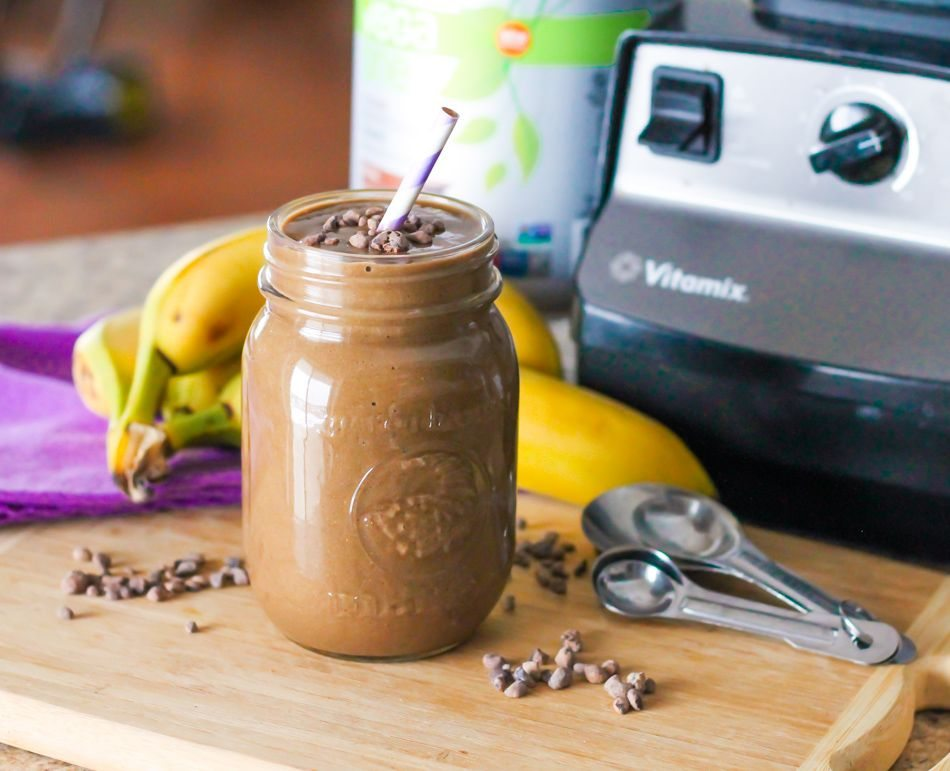 Banana Mocha Smoothie 2