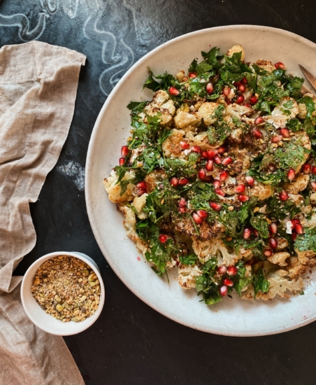 Olivia Muniak's Roasted Cauliflower & Gremoleta⁠